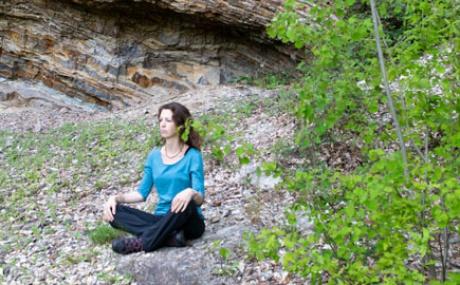 Steinbruch Meditation